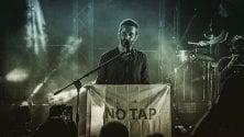 Silvestri versione No Tap nel concerto a Lecce