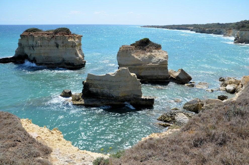 Puglia, ecco le due spiagge fra le 10 più belle d'Italia
