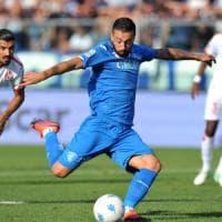 Calcio, il Bari piegato dalla doppietta dell'ex Caputo: contro l'Empoli