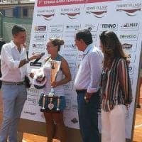 Tennis, Anastasia Grymalska vince il torneo internazionale di Barletta