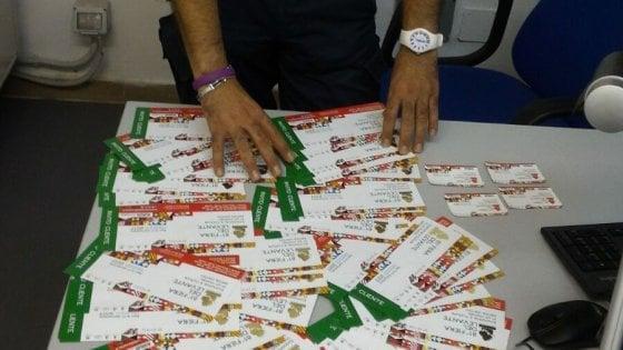 Sequestrati ai bagarini biglietti abusivi della Fiera del Levante