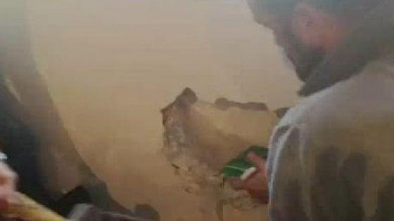 Bari: sequestrato un milione di euro, era nascosto in un muro