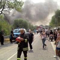 Bari, strage dei fuochi d'artificio: l'unico sopravvisuto rischia il processo per le 10 vittime