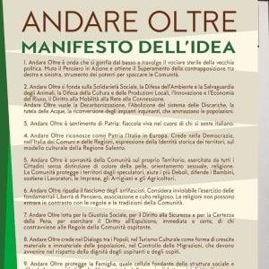 """Salento, il manifesto del sindaco di estrema destra: """"Rinnego il fascismo degli antifascisti"""""""