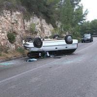 Foggia, muore in moto sotto gli occhi della moglie investito da un'auto