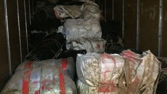 Brindisi. Sequestrato un camion con una tonnellata e mezza di marijuana