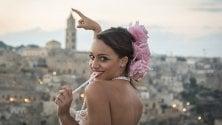 La bellezza fra i Sassi: a Matera il set delle modelle