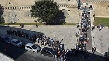 Giornata del Fai, a Bari tutti in coda al castello svevo