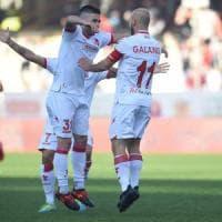 Salernitana-Bari finisce 2-2: l'assedio biancorosso non va oltre il pareggio