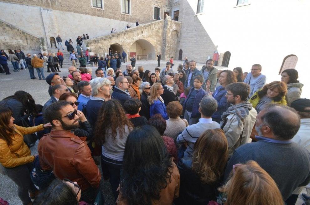 Domenica gratis al museo: la coda al castello di Bari
