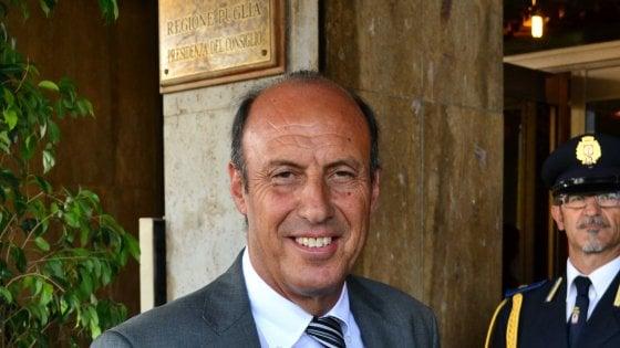 Regione Puglia, addio all'assessore Salvatore Negro: istituì il reddito di dignità