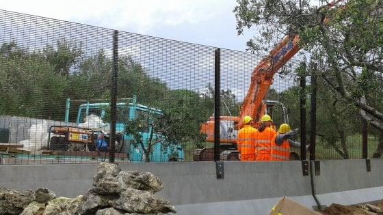 Gasdotto Tap, in Salento barriere antisfondamento al posto dei muretti a secco: cantiere blindato