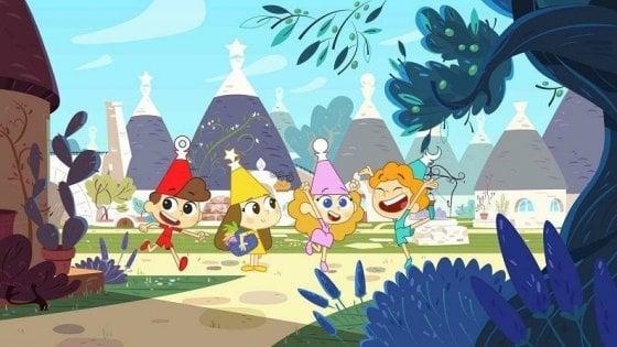 Trulli Tales, il nuovo cartone per la Disney è ambientato ad Alberobello