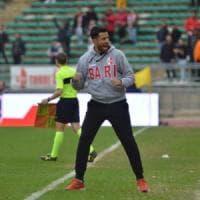 Coppa Italia, il Bari perde a Sassuolo (2-1) ma esce a testa alta e pensa