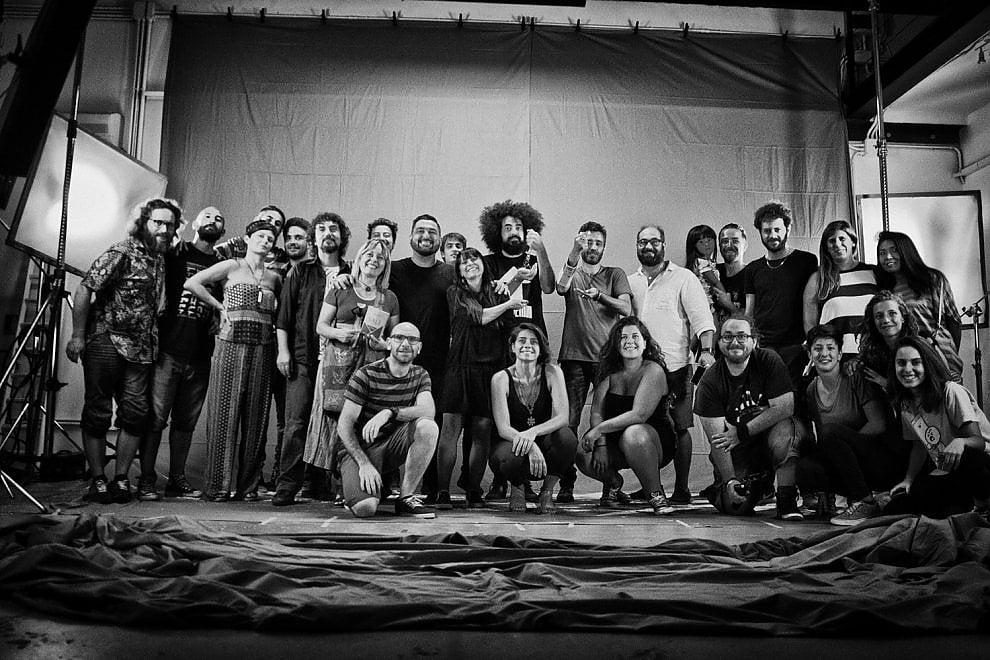 Caparezza e gli altri, a Lecce i backstage dei videoclip