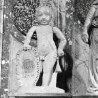 Putto in marmo rubato 32 anni fa ad Aversa ritrovato in casa di un collezionista