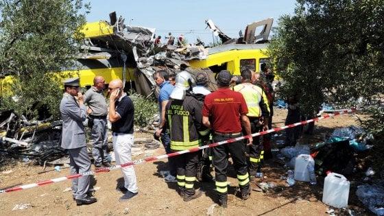 Strage dei treni, 19 indagati per l'incidente ferroviario che causò 23 morti fra Andria e Corato