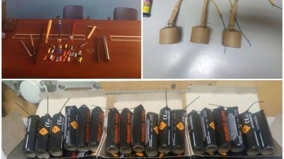 Calcio, 50 bombe carta per la trasferta di Catania: un ultrà del Matera arrestato