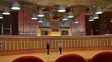 Foto  Bari, l'organo dell'auditorium Rota è da record e presto tornerà a suonare