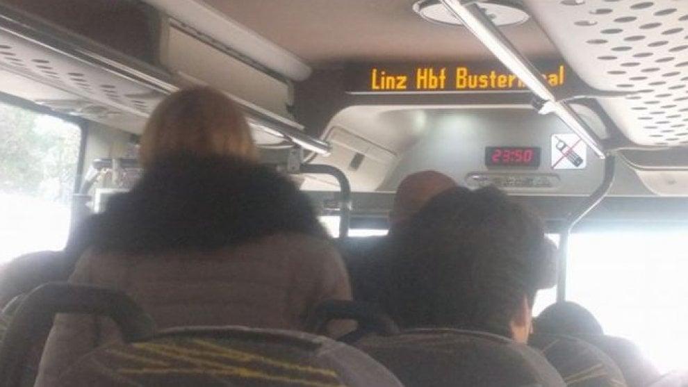Puglia, sul bus delle Sud Est spunta l'arrivo a Linz