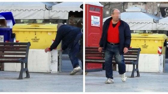 """Bari, abbandona frigorifero sul corso. Il sindaco lo smaschera su Facebook: """"E' lo schifoso dell'anno"""""""