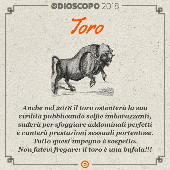 'L'odioscopo 2018' di Proforma: il Toro è una bufala