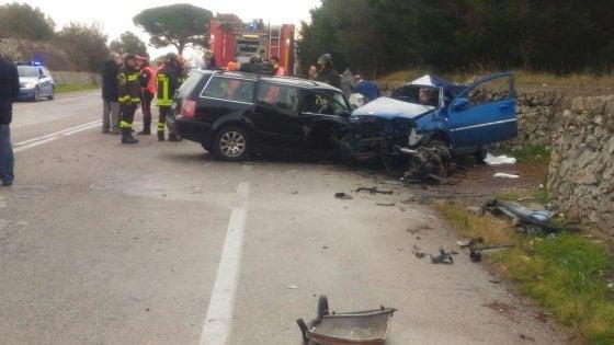 Incidenti stradali / Quattro morti in Puglia, tra cui tre ragazzi