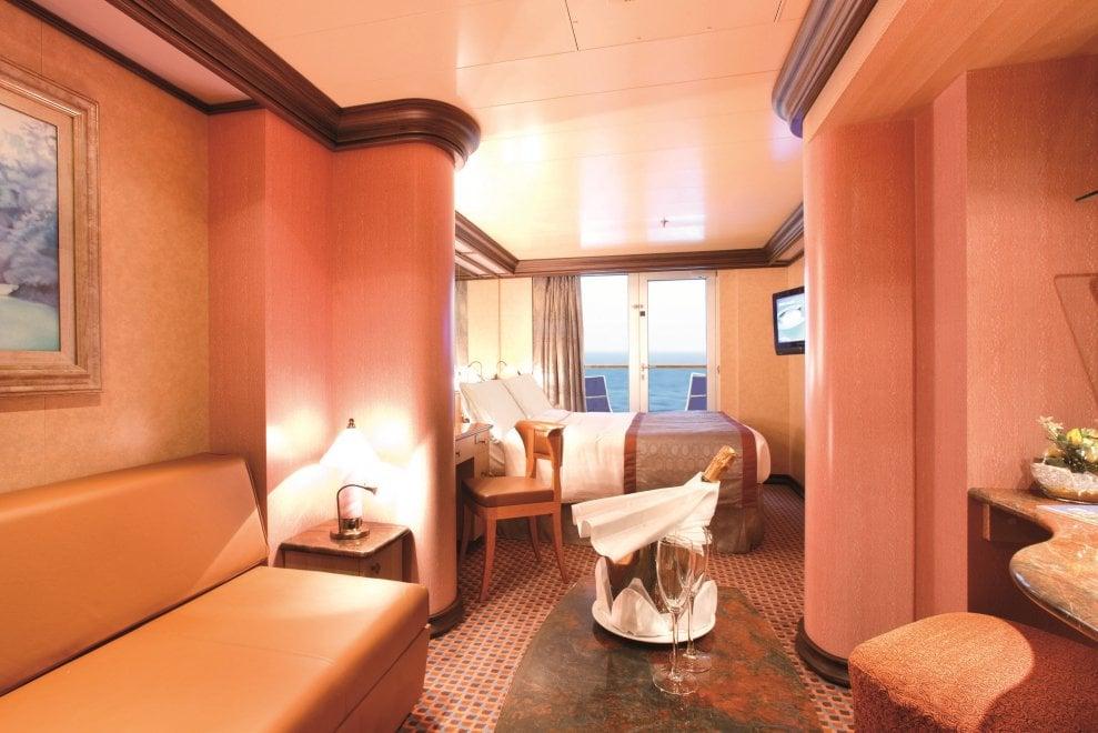 La nave da crociera che fa il giro del mondo in 106 giorni for Quali cabine sono disponibili sulle navi da crociera