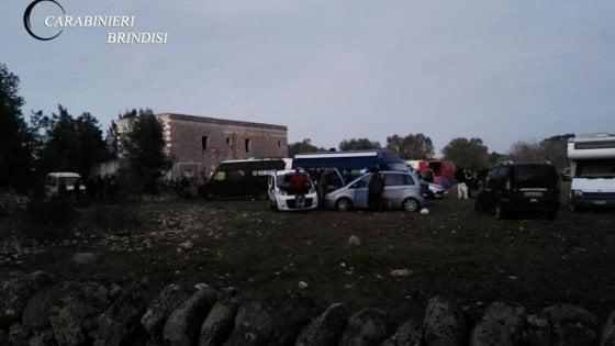 Francavilla Fontana, 150 denunciati per il rave party di Capodanno: sei sono minorenni