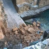 Salento, frana un pezzo di scogliera a Santa Cesarea