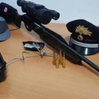 Taranto, denunciato bracconiere hi-tech: trappole con telecamere e visori