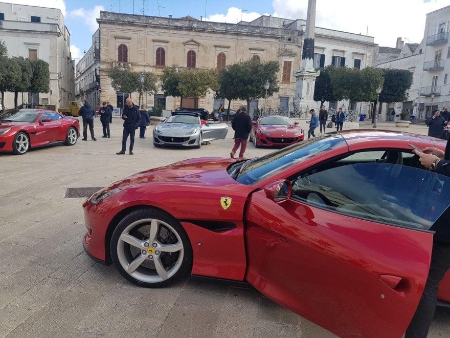 La Ferrari Portofino svelata fra i trulli di Alberobello
