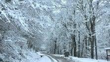 Arriva la neve in Puglia   Faeto è imbiancata