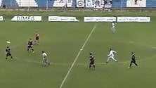 Trani, il gol del capitano una prodezza da 50 metri