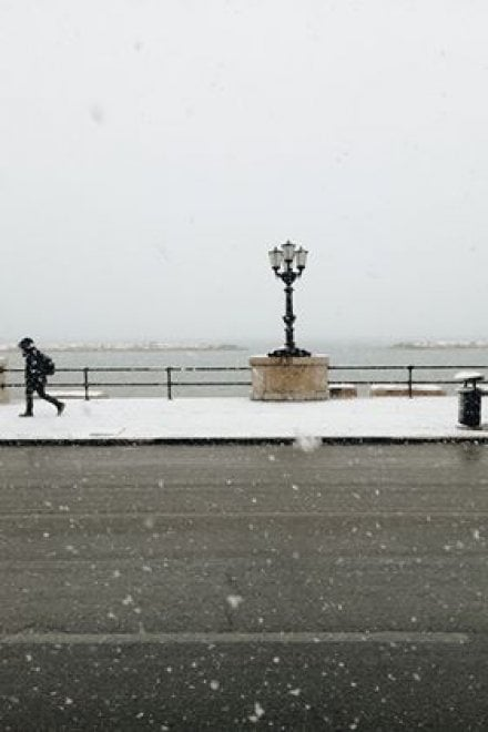 Bari e dintorni con la neve, le foto più belle dei nostri lettori