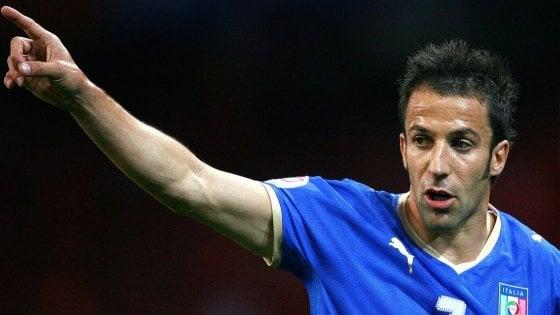 Del Piero: 'Juve favorita per lo scudetto, ma il Napoli...'