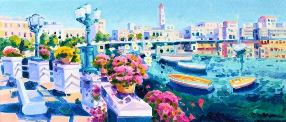 Tutti i colori di Bari: in mostra 'L'immensità della luce'