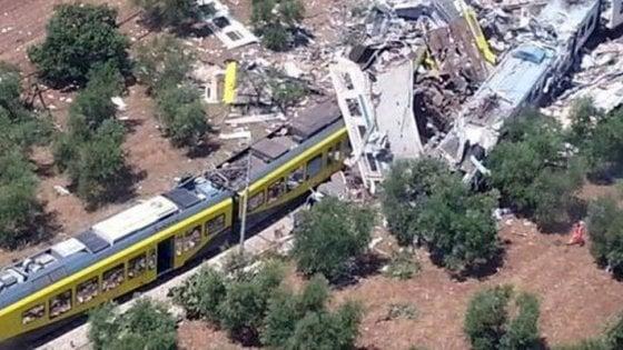 Treni, messa in sicurezza la tratta tra Bari e Ruvo. Ma il binario della strage resta bloccato