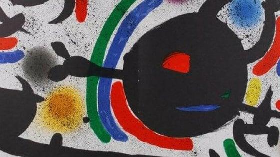 Mirò in mostra al castello di Monopoli: un'antologia di 90 opere grafiche