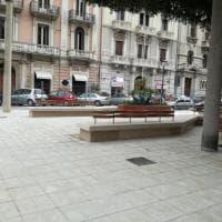 Bari, nel cantiere del giardino di piazzetta Cavour: ecco come sarà