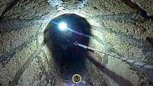 Tricase, gli speleologi nell'antica cisterna del porto