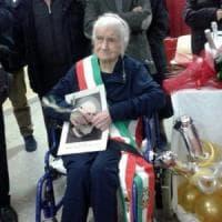 Foggia, Nonna Peppa compie 115 anni: è la quinta donna più longeva al