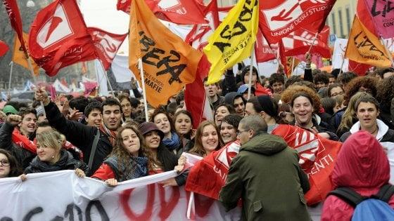 """""""No alla mafia"""", a Foggia la marcia di Libera con"""