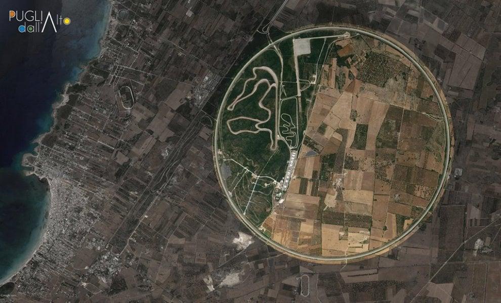 Puglia dall'alto: lo spettacolo visto da Google Earth