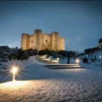 Castel del Monte sotto la neve: fascino e mistero