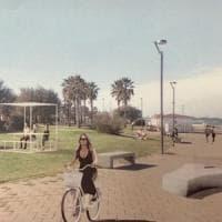 Bari, gazebo e aree per il coworking a Torre Quetta: la spiaggia cittadina