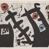 Arte, i capolavori di Mirò nel castello di Monopoli