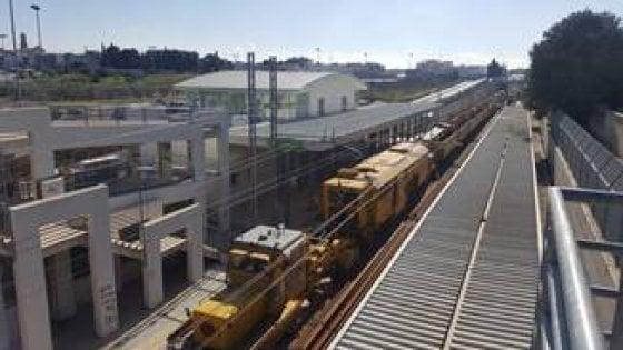 Tornano i treni sulla bari adelfia conclusa prima parte for Sud arredi adelfia