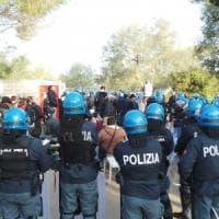 Lecce, torna la zona rossa davanti al cantiere Tap: accessi controllati