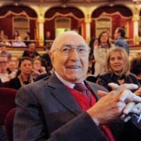 Pippo Baudo premiato per i sessant'anni di tv: